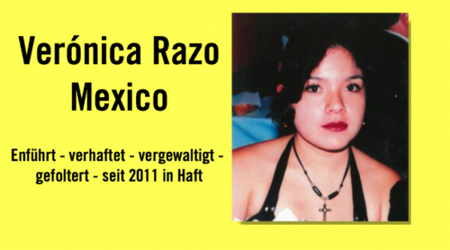 Amnesty International-Einzelfall Verónica Razo